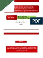 Tesis PPT E-commerce PDF