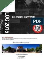ECCU Catalog 2015