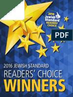 Jewish Standard Readers' Choice 2016