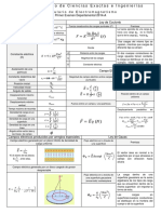 Formulario Electromagnetismo