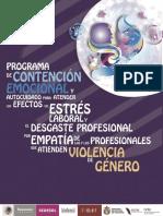 Programa de Contención Emocional y Autocuidado Para Atender Los Efectos Del Estrés Laboral y El Desgaste Profesional Por Empatía de Las y Los Profesionales Que Atienden Violencia de Género