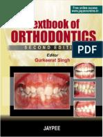 Textbook of Orthodontics - Advance cases