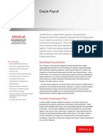 oracle payroll sheet