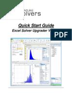 Excel Solver Upgrade Guide