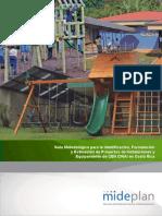 Guía Metodológica para la Identificación, Formulación y Evaluación de Proyectos de Instalaciones y Equipamiento de CEN CINAI en Costa Rica