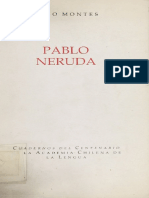 Hugo Montes -Pablo Neruda