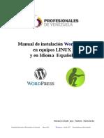 Ojo VZLA Manual Instalacion Wordpress