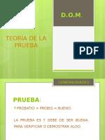 Teoria de La Prueba.