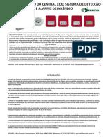 Manual Técnico Da Central e Do Sistema de Detecção e Alarme de Incêndio Convencional Supervisionado