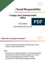 CSR Strategy Presentation