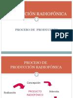 Producción de un programa de radio