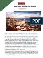 Un Quartier Typique de Lisbonne Menacé Par l'Excès de Touristes