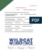act activety 7 summary page