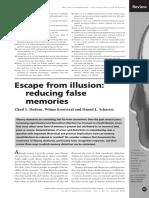 Escape From Illusion