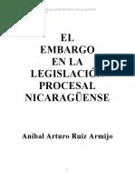RuizArmijoAA-EmbargoEnLaLegislaciónProcesalNicaragüense