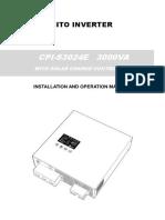 CPI S3024E Ficha Manual
