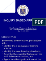 Inquiry Based Learning & Localization & Contextualization