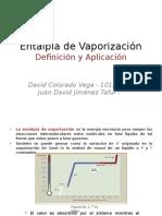 Entalpia de Vaporizacion - Explicacion
