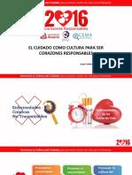 La Cultura Del Cuidado Para Ser Corazones Responsables Juan Carlos Santacruz