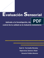 3007971 Evaluacion Sensorial de Alimentos 2007 Evaluation Sensorial in Food Cuba