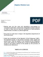 Philippine Statute Law.pptx