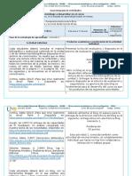 Guía integrada de actividades