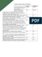 Bibliografia Básica Para Doutorado