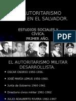 El Autoritarismo Militar