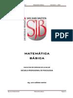 Matematica Básica Unidad I-II-III