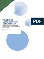 Taller de Comunicación Estratégica