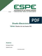 Diseño Electrónico Fuente DC