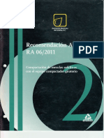 Recomendación AMAAC RA 06 2011 Compactación de Mezclas