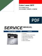 samsung clx 4195fn service manual electrostatic discharge ac rh scribd com samsung clx 4195 service manual samsung clx-4195 service manual pdf
