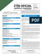 Boletín Oficial de la República Argentina, Número 33.427. 27 de julio de 2016