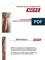 MERS E-Delivery Presentation wth their charts