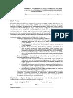 Designacion Del Coordinador de Actividades Empresariales