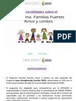 Familias Fuertes Generalidades