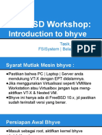 FreeBSD Workshop-Introduction to Bhyve
