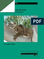 Koala Recovery Plan
