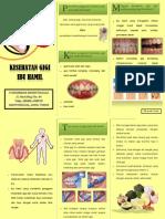 Leaflet Gigi Dan Mulut Ibu Hamil