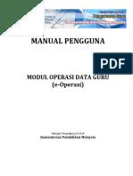 Manual Pengguna Am E-Operasi