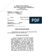 Position Paper- Marites P. Amabao Et. Al.
