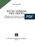 Illich, Ivan, En el viñedo del texto....pdf