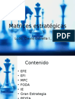 Matrices Estratégicas
