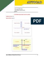 Coordenadas Rectangulares Absolutas y Relativas