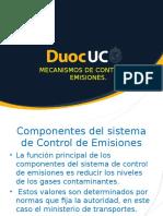 Mecanismos de Control de Emisiones