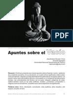 Apuntes Sobre El Vacío - José Antonio Romero Corzo