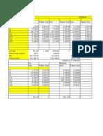 Perhitungan Fraksi Dan Perbandingan Excel-hysys