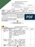 Formato Planificación Curricular Anual