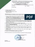 Edaran Direktur Serdos Tahap II 2016